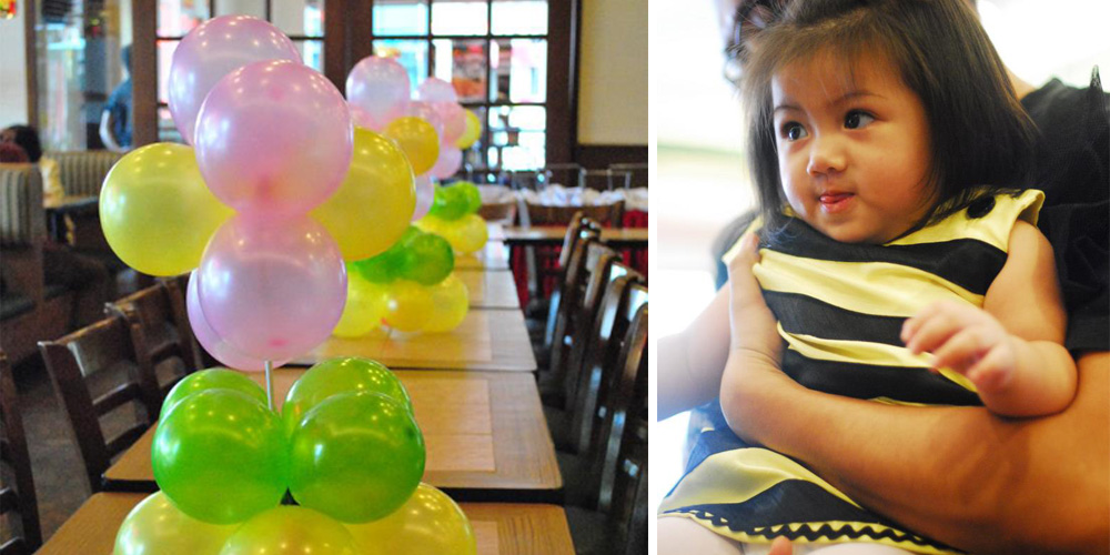 Bumblebee Birthday Party via Happy Hands Project