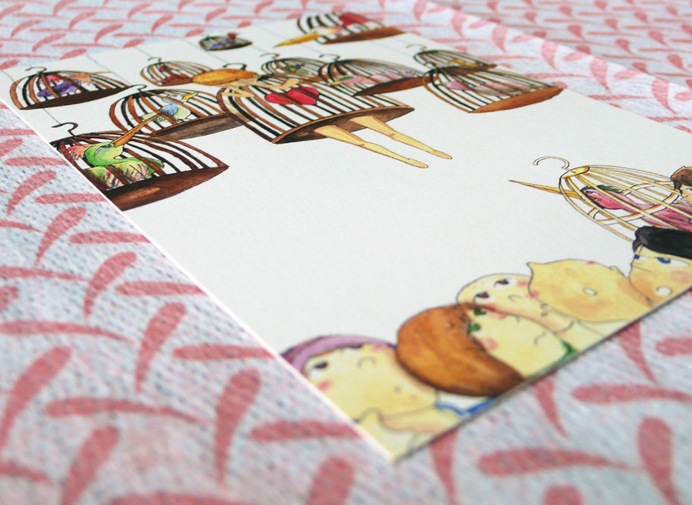 Craft Fair Singapore-Chong Giin Song Postcard