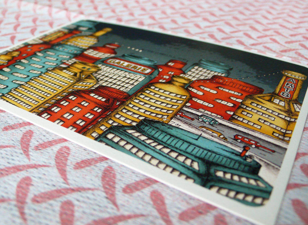 Craft Fair Singapore-Evon LeAngelis Postcard