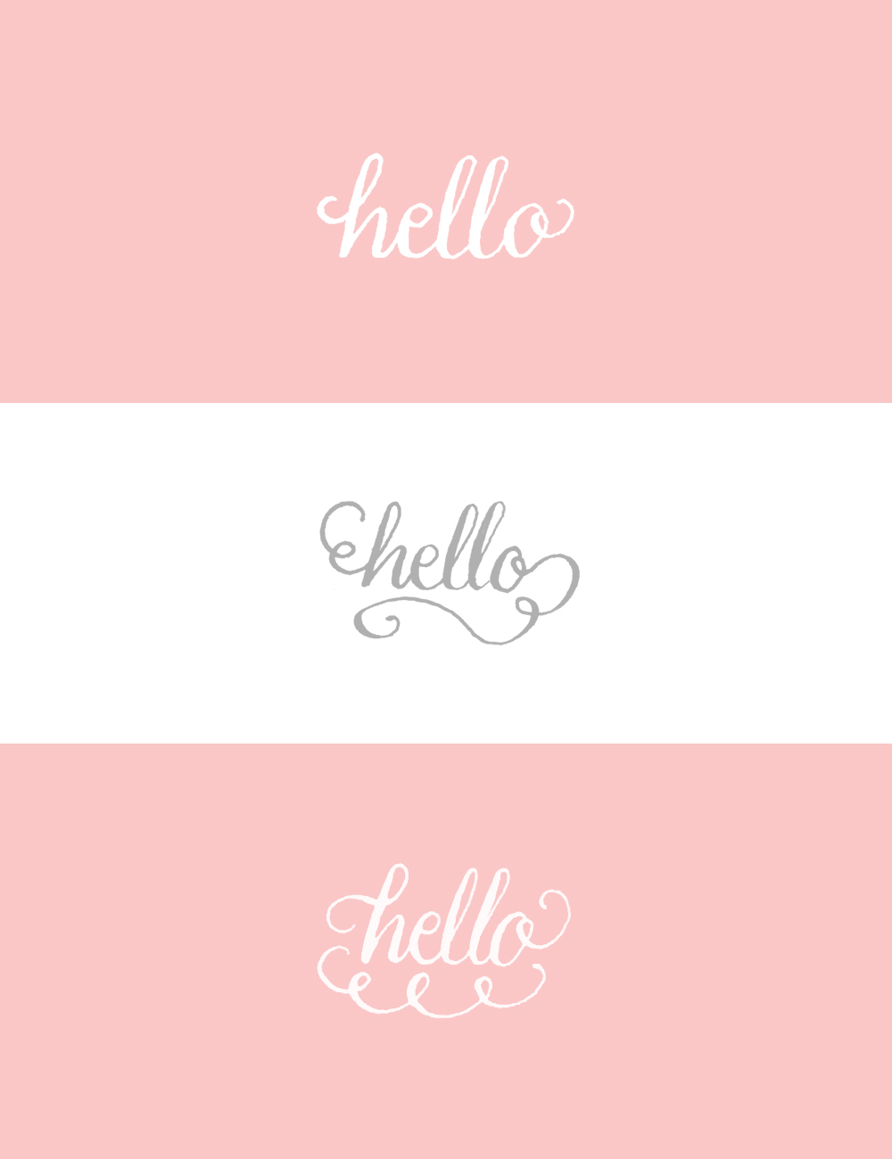 Hello Photoshop Brushes via Happy Hands Project
