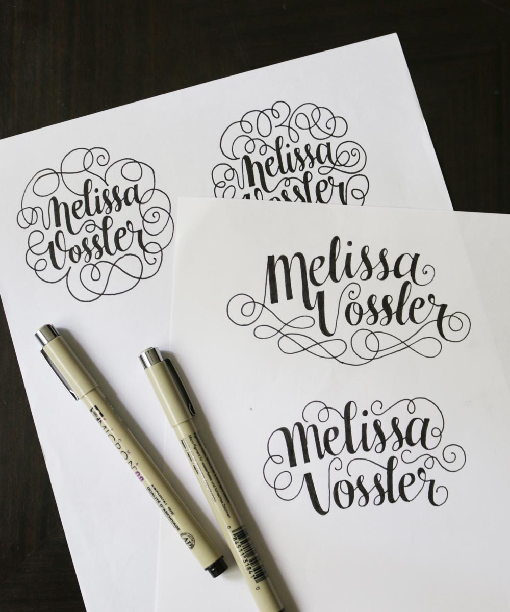 Melissa Vossler Logo via Happy Hands Project