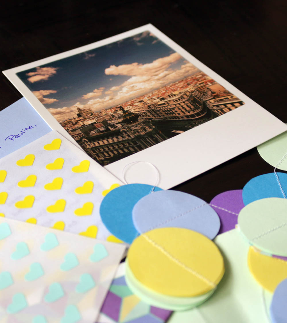 Snail Mail Writing via Happy Hands Project