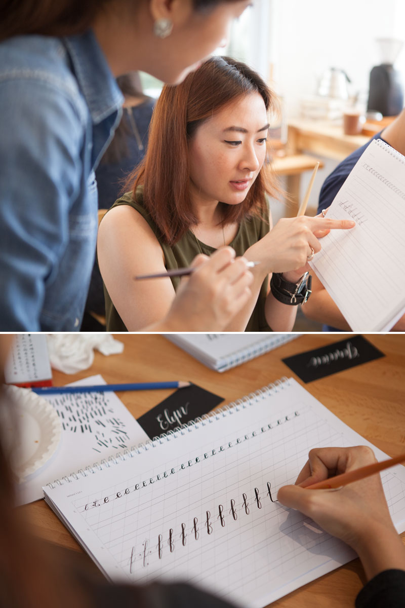 Dec2015 Calligraphy-Workshop via Happy Hands Project