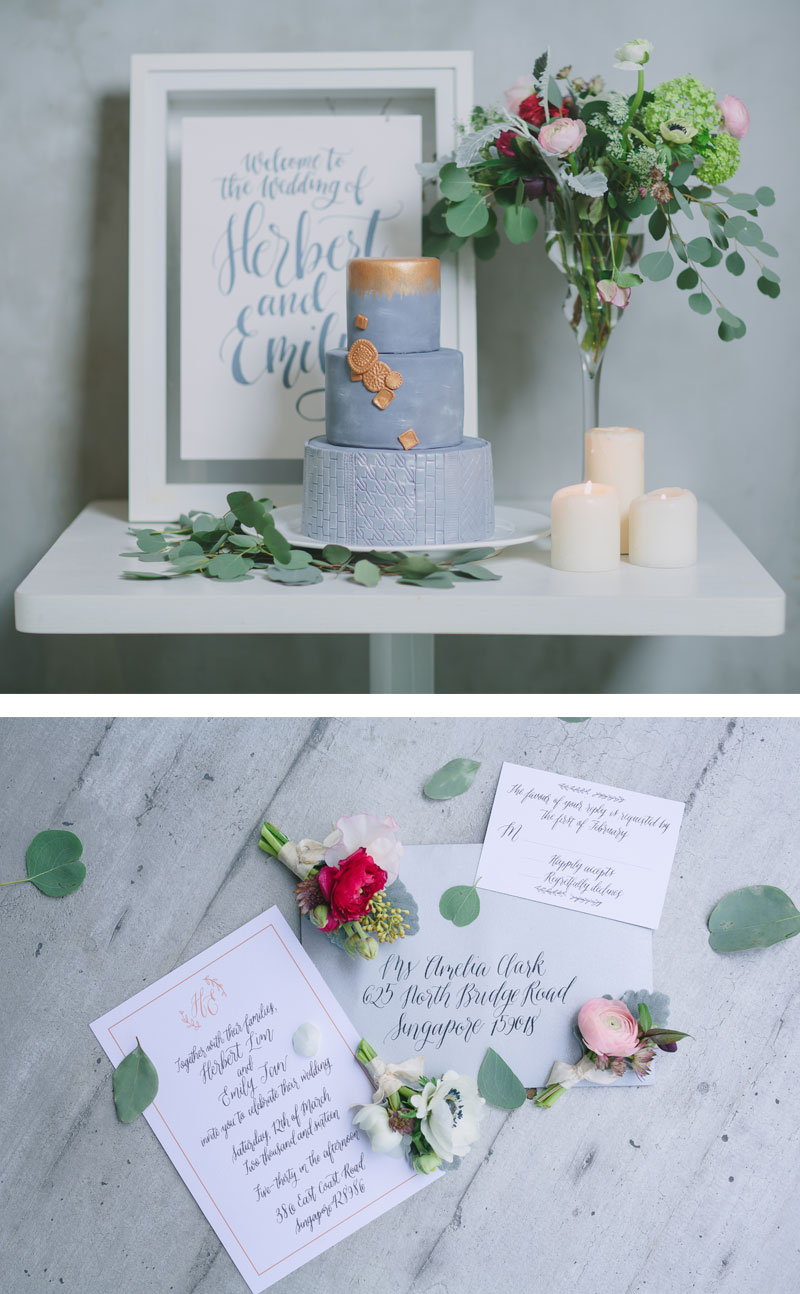 Industrial Wedding Theme via Happy Hands Project