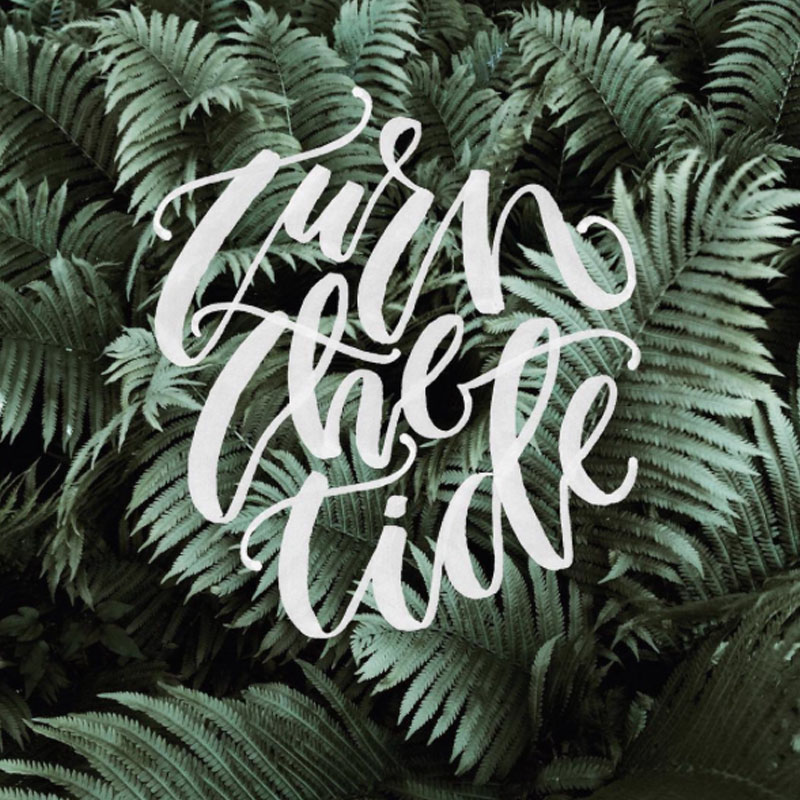 Lettering Artist to Follow on Instagram via Happy Hands Project