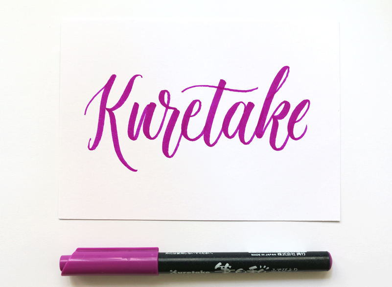 Kuretake via Happy Hands Project