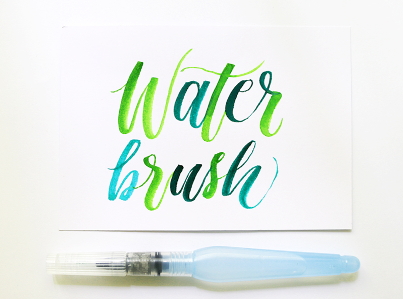 Pentel Aquash via Happy Hands Project