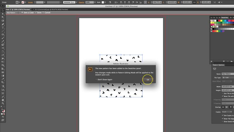 Digitizing Your Calligraphy: Adding Seamless Patterns
