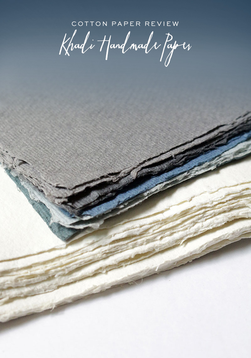 Khadi Handmade Cotton Paper Review via Happy Hands Project