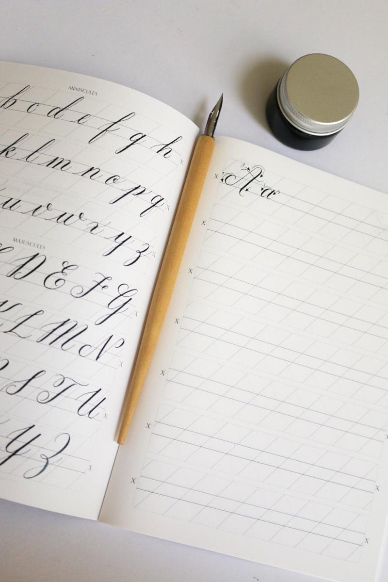 Calligraphy Starter Kit via Happy Hands Project