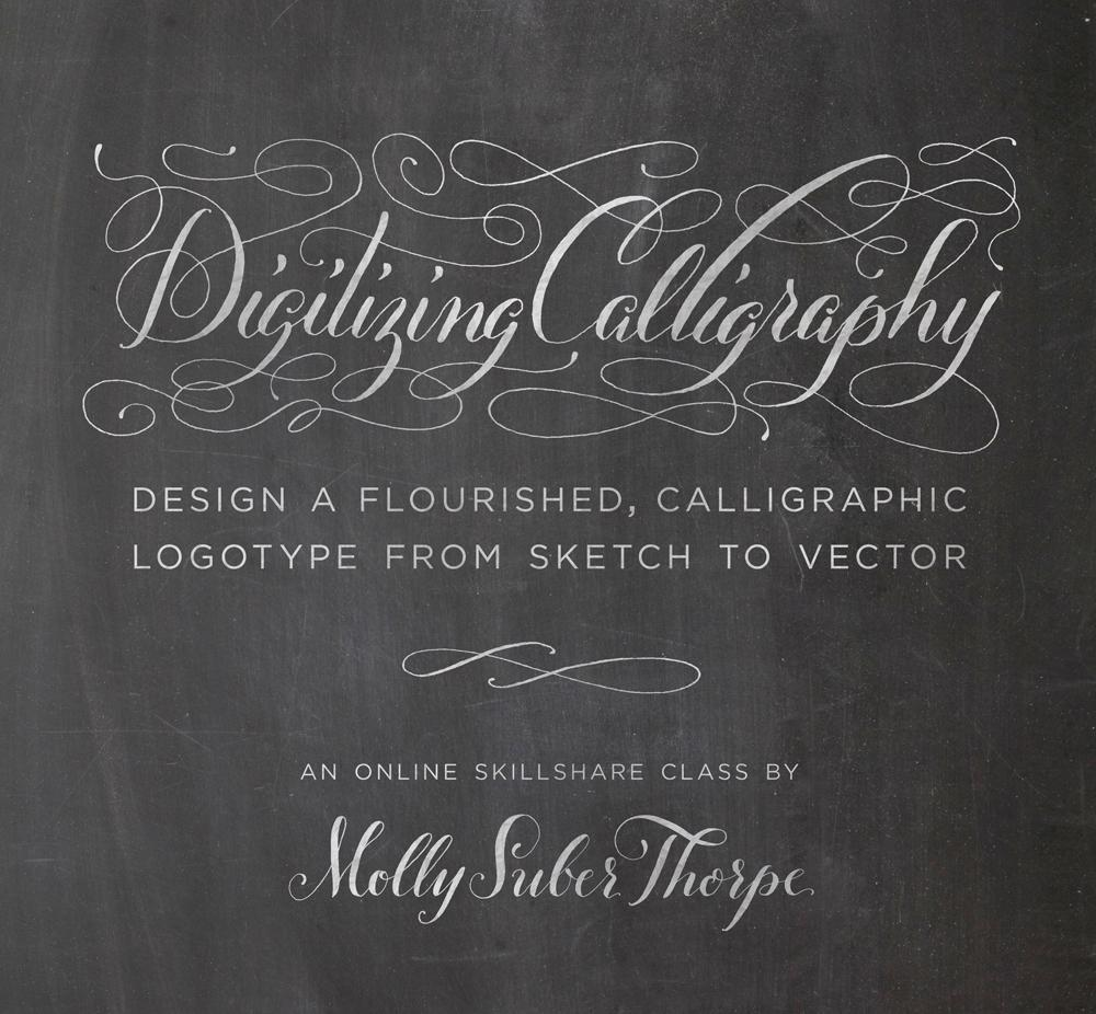Digitizing Calligraphy from Sketch to Vector-Skillshare