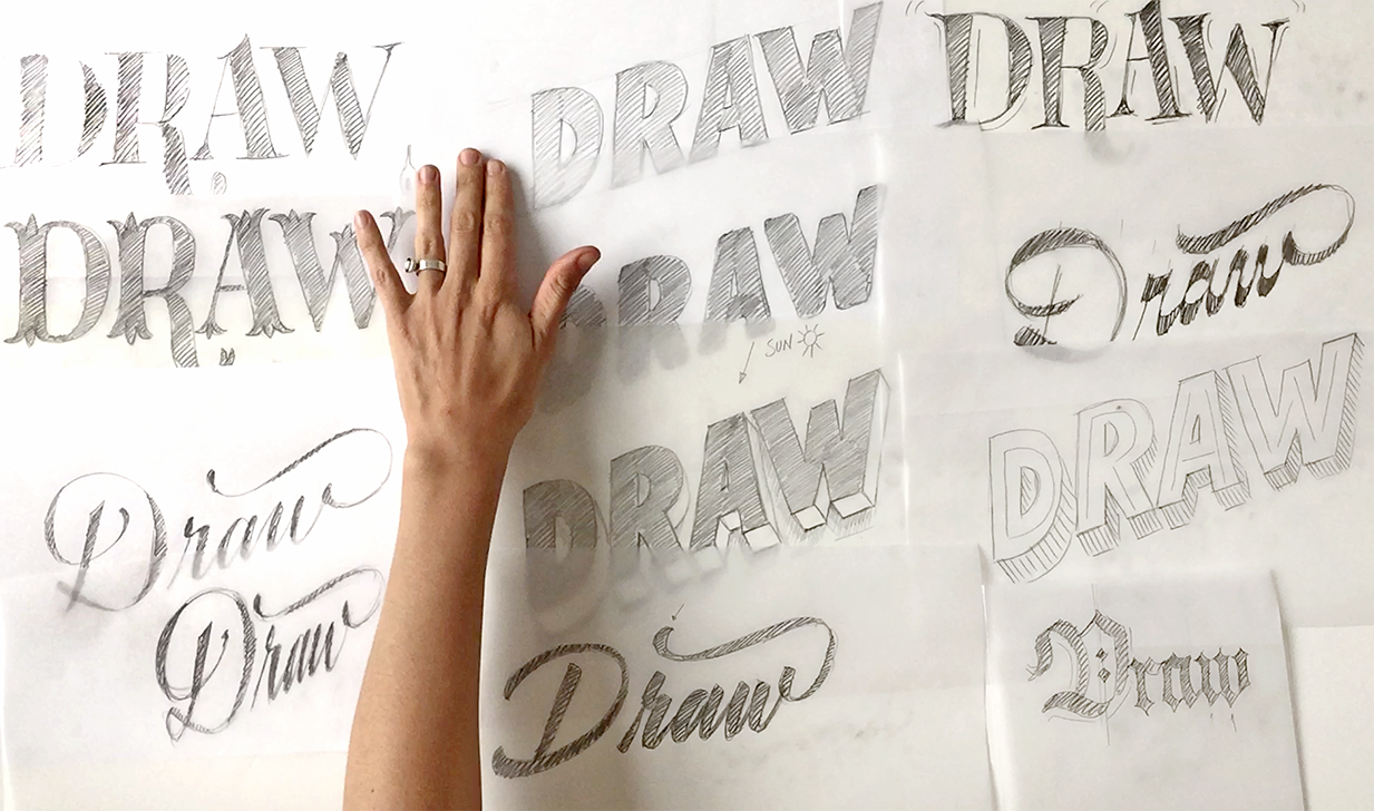 Storytelling Through Lettering-Skillshare