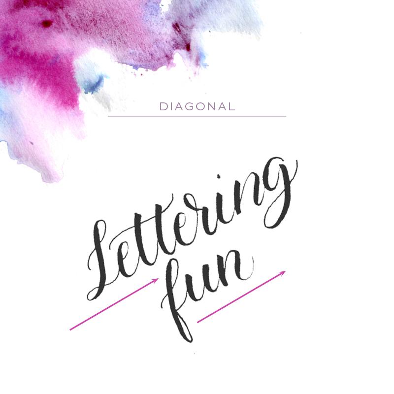 Make Your Brush Lettering Unique via Happy Hands Project