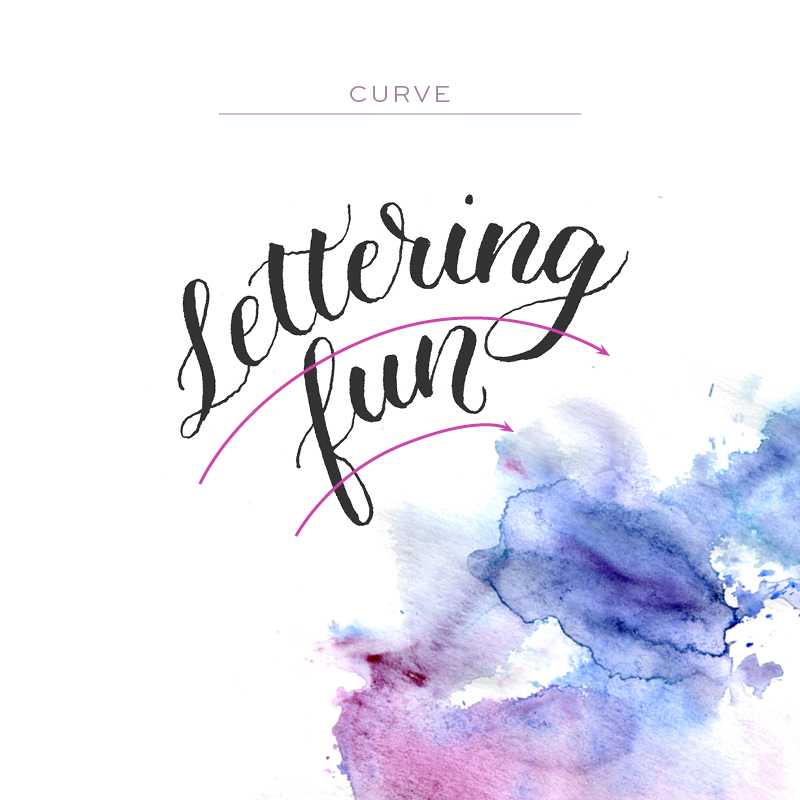 Make Your Brush Lettering Unique via Happy Hands Project